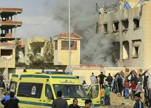 Scores feared dead as explosion rock Libyan mosque