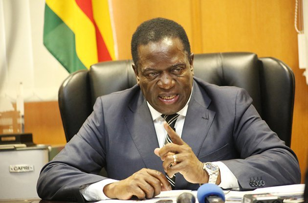Emmerson Mnangagwa sworn in as Zimbabwe's president; assures Mugabe of safety