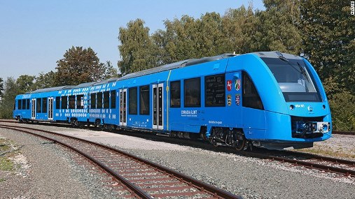 Germany to bring World's first hydrogen-powered passenger trains