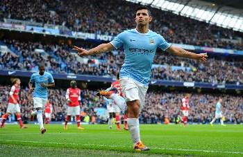 Aguero's hat-trick help Manchester City outclass Arsenal