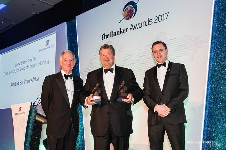 UBA wins 5 awards at The Bankers Award, the Oscars of the Financial Industry