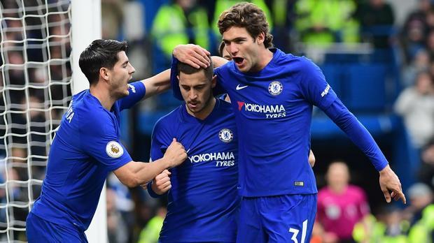 UPDATED: EPL RESULTS: Spurs held, Hazard inspires Chelsea, Liverpool win big, United beat Arsenal