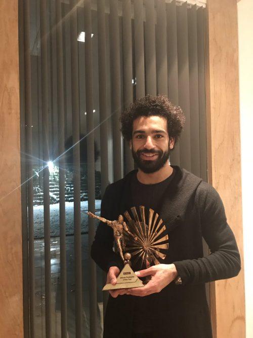 AGAIN! Salah wins BBC African Footballer award