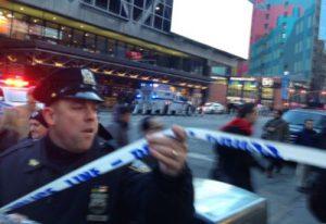 New York police arrest one suspect over Manhattan
