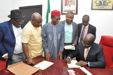 Obaseki signs Edo's N150 billion 2018 Budget into Law