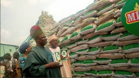 Ogun State launches own rice, with a market price of N11,500