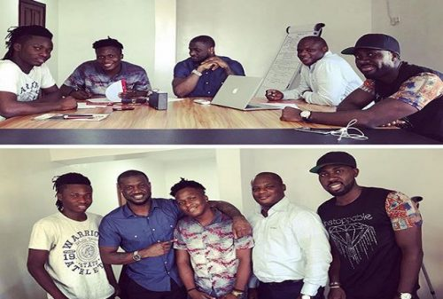 Peter Okoye signs new artiste 'Singah' to P-Classic Record Label