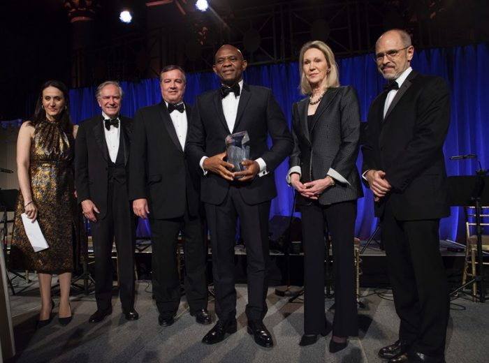 Tony Elumelu honoured with the Dwight D. Eisenhower Global Entrepreneurship Award