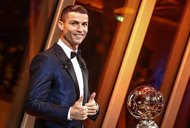 Ronaldo wins 2017 Ballon d'Or, speaks on equalling Messi's record