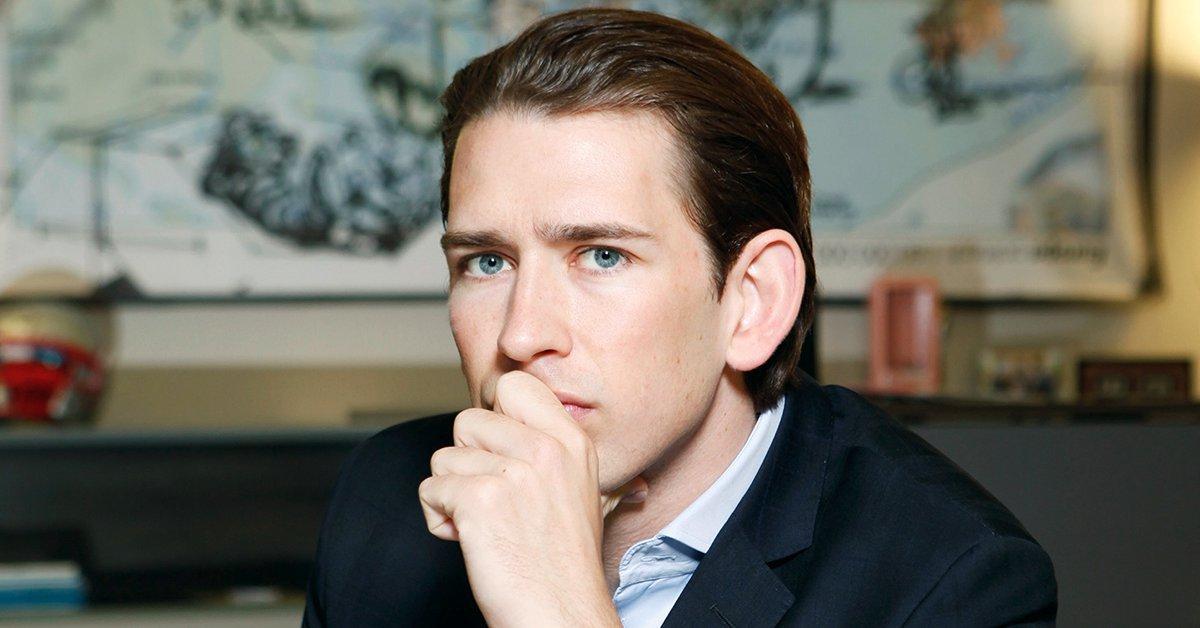 31-year-old Kurz sworn in as Austria's new Chancellor