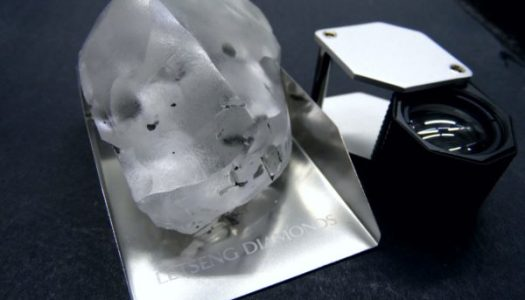 World's fifth biggest diamond discovered in Lesotho worth about $40m