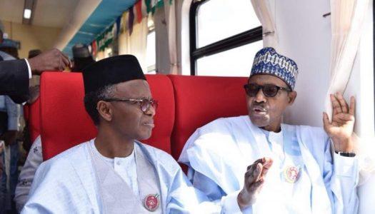 Buhari inaugurates new train coaches in Kaduna (PICTURES)