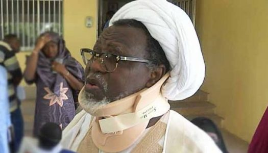 Shi'ites leader El-Zakzaky makes first public appearance, speaks for the first time since 2015