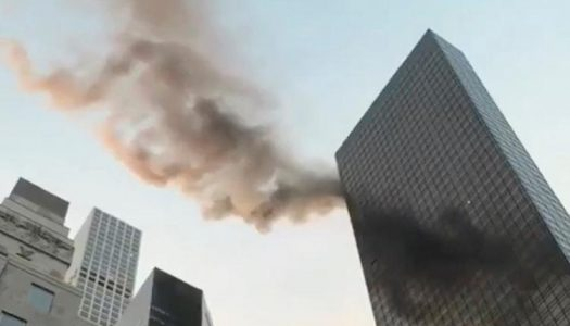 Fire outbreak in Trump Tower injures one