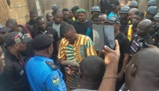 PHOTOS: Police arrest 'Badoo' leader, chief herbalist