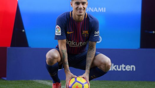 VIDEO: Barcelona unveils Coutinho after completing £146m move