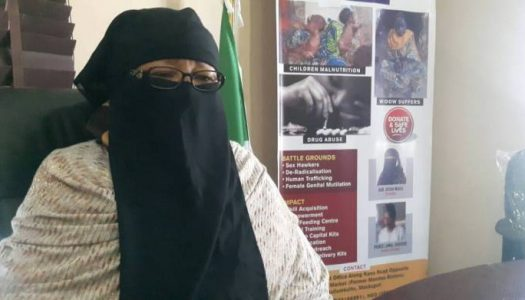 WATCH: Video of Mama Boko Haram narrating how Dapchi Girls were released, gives assurance on remaining one