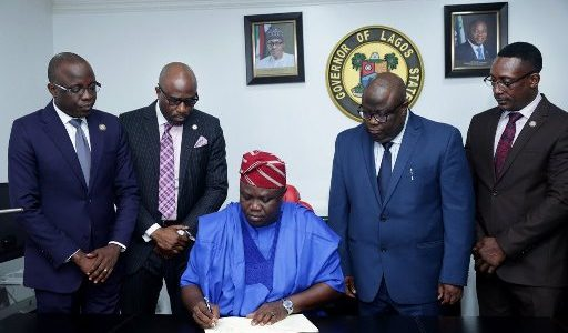 Ambode signs N1.046trn budget, 2 other bills into law