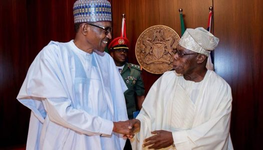 IBB, GEJ absent as Buhari holds Council of State meeting with OBJ, Gowon, others