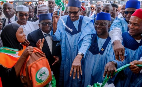 Buhari inaugurates school for physically challenged persons in Lafia