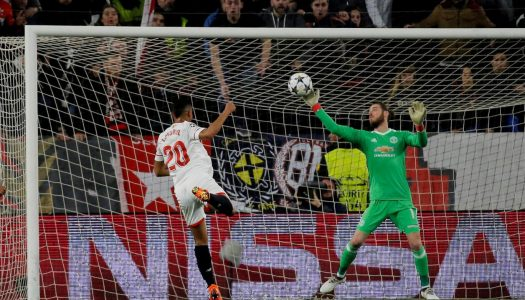 UCL: De Gea secures draw for Manchester United against Sevilla, Shakhtar beat Roma 2-1