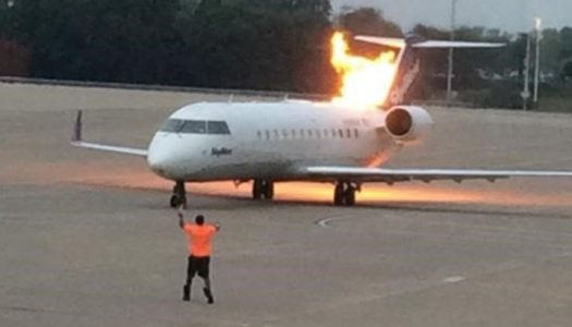 Atlanta-bound Delta Air Plane returns to Lagos after it caught fire mid-air