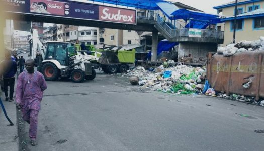 We clear the heaps of refuse from a spot, before you say Jack Robinson they are back – Cleaner Lagos Initiative cry out