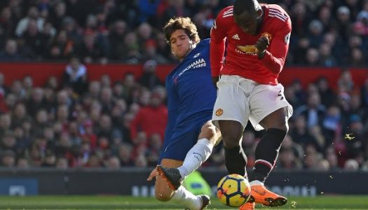 Lukaku wakes up to help United defeat Chelsea