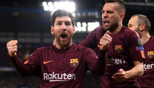 CHAMPIONS LEAGUE: Messi nets brace as Barcelona defeat Spurs, Liverpool lose to Napoli