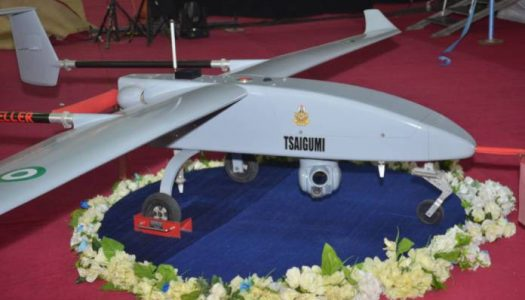 VIDEO: Locally Made NAF New Drone TSAIGUMI in Hard Strike Exercise