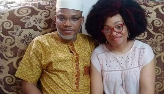 I don't my husband's whereabouts, you should ask army – Nnamdi Kanu's wife