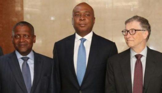 Pictures: Saraki and Dogara meet Bill Gates, Dangote, discuss sustainable healthcare