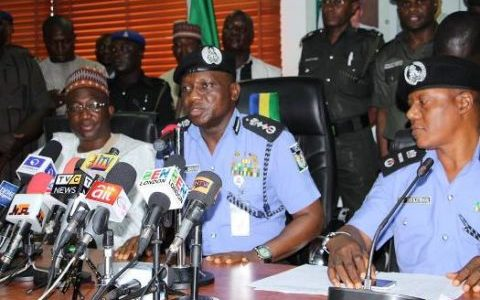 Osinbajo meets police IG behind closed doors after Maiduguri protest