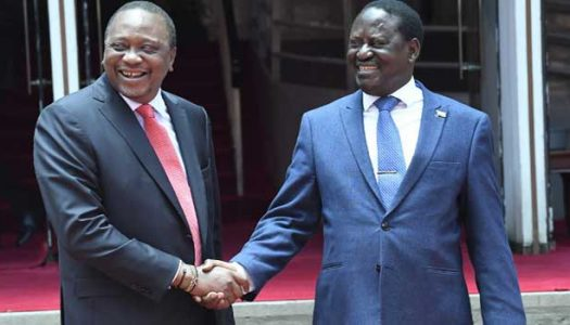 President Kenyatta and Odinga meet in public, vow to resolve differences