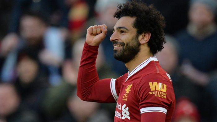 Mohamed Salah wins player of the month