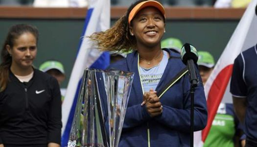 Unseeded Naomi Osaka becomes first Japanese to win Indian Wells