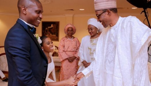 "Photo News: Buhari, governors, others attend the ""private"" wedding of Osinbajo's daughter"