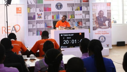 Bayode Treasures Olubunmi breaks Guinness record in 'Longest Marathon Reading Aloud'