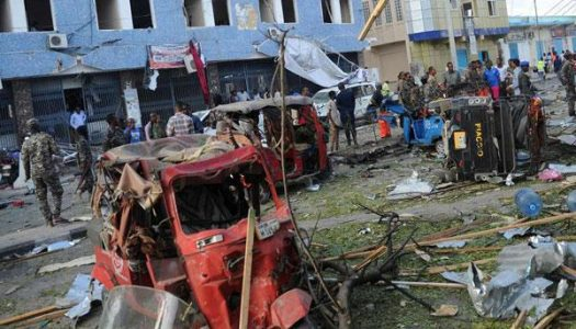Seven injured by road-side bomb in Mogadishu