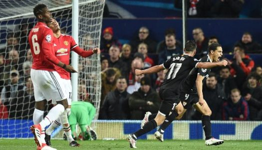 Sevilla knocks Manchester United out of UCL as Roma