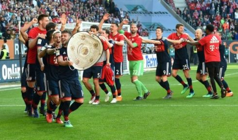 Bayern Munich win 6th straight Bundesliga title