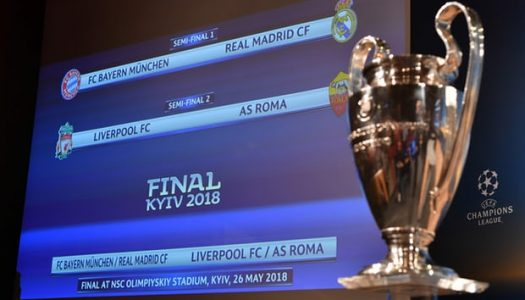 Champions League semi-final draw: Real gets Bayern test, Liverpool to face Roma