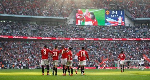 Manchester United Beat Tottenham in FA Cup Semi-Final 2018