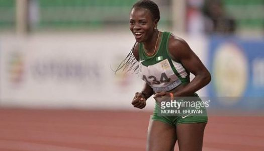 Amusan becomes first Nigerian to win 100m hurdles at Commonwealth Games