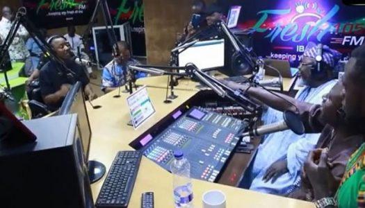 VIRAL VIDEO: Sowore tackles Shittu on live radio programme