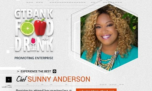 See the Food Network star that isbringing her unique flavours to the GTBank Food and Drink Fair