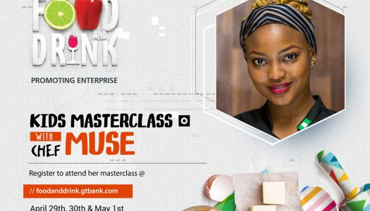 The kids are not left out! Chef Muse Will Help Your Kids Find Their Cooking Muse at the 2018 Gtbank Food and Drink Fair