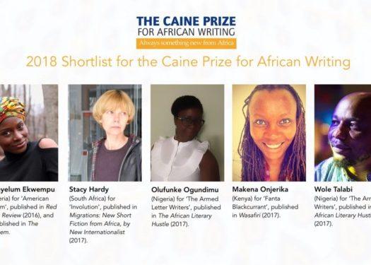 2018 Caine Prize Shortlist
