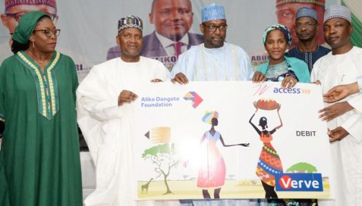 Dangote gives N10b micro-grants to 25,000 Niger women