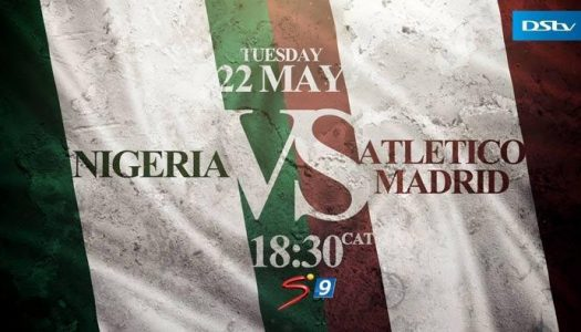 Atletico Madrid squad for Super Eagles friendly today